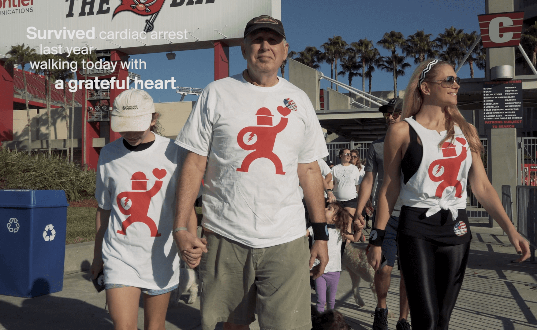 Rick at Heart Walk