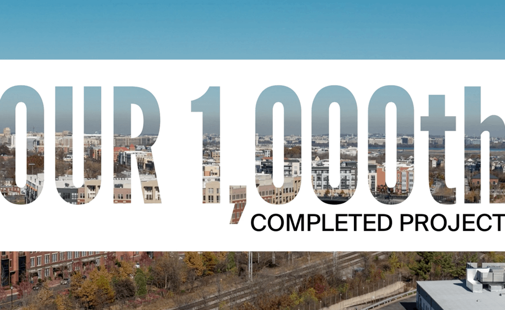 Our 1000th Project
